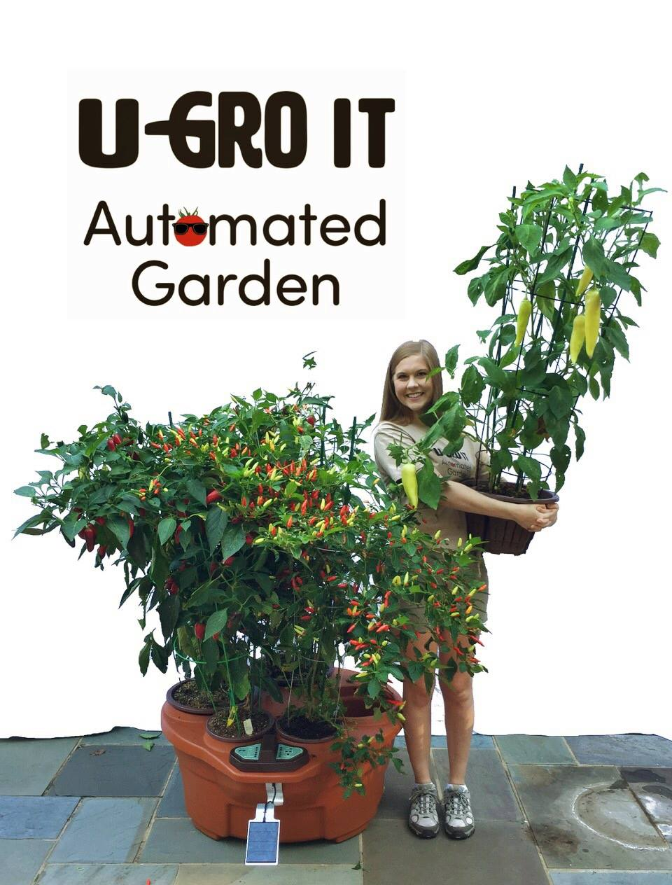 U-GroIT Automated Garden